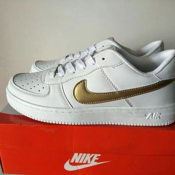 Nike Air Force 1 Unisex Sport Casual Classic Low Help Shoes Sneakers Couple Plate Shoes-2