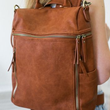 Jackson Lake Backpack - Cognac