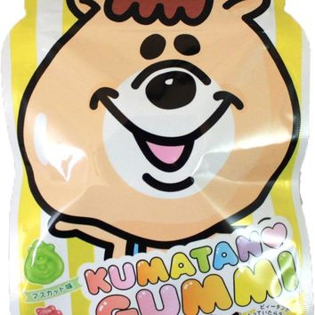 Lion Kumatan Kawaii Gummy -- Peach, Muscat and Lemon Flavor
