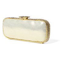 Clara Kasavina Gold Rita Clutch - Gold Evening Clutch - ShopBAZAAR