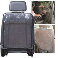 Transparent PVC Accessories Baby Boy Toddler Anti Kick Mat Car Back Seat Protection Cover Protector Sheet Auto Liner Vehicle Mat