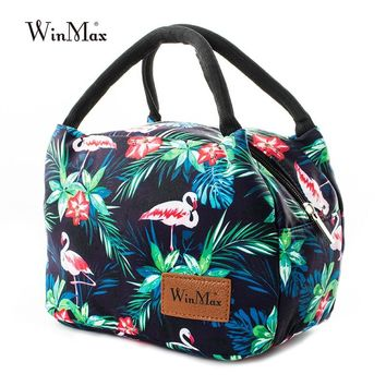 Winmax Thicken Waterproof Cooler Bag Women Fashion Fresh Keeping Insulation Lunch Bag Icepack Thermal Insulated Cooler Bags