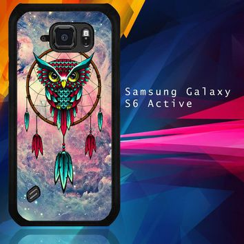 Dream Catcher The Owl V1858 Samsung Galaxy S6 Active  Case