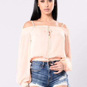 So Fresh And So Clean Top - Blush