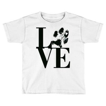 LOVE MY DOG Toddler T-shirt