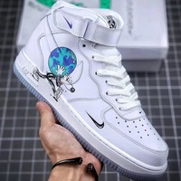 """Trendsetter Nike Air Force 1 """"Earth Day Pack"""" Women Men Fashion Casual Sneakers Sport Shoes"""