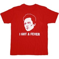 SNL Saturday Night Live Christopher Walken Fever Red T-shirt|TV Store Online