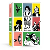 PENGUIN RANDOM HOUSE RAD AMERICAN WOMEN A-Z POSTCARDS
