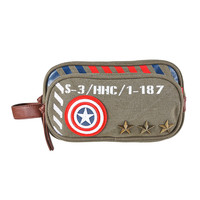 Marvel Captain America Army Toiletry Bag