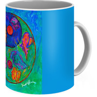 Ying Yang Butterfly Coffee Mug for Sale by Kendall Kessler