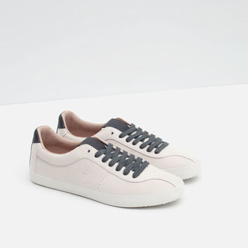 PLIMSOLL WITH LACES