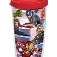 Marvel's® Avengers: Age of Ultron - Wrap with Lid | 16oz Tumbler | Tervis®