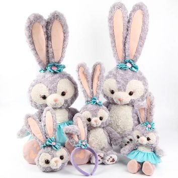 New Arrival Stellalou Bunny Rabbit Plush Toys A Friend of Duffy Bear Stuffed Animal Dolls Kids Birthday Gift