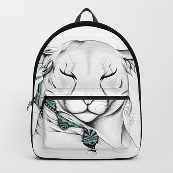 Poetic Cougar Backpack by loujah
