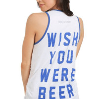 Wish You Were Beer Graphic Tank