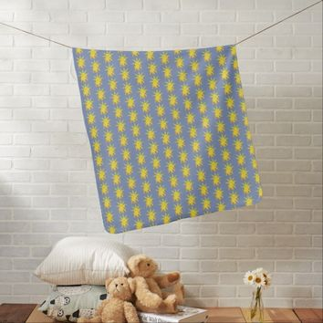 Elephant and Sun Swaddle Blanket