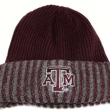 Texas A&M Adidas Adult Knit Beanie Hat
