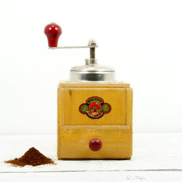 Antique Coffee Grinder by Burg Muhle - German