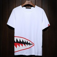 Plus Size Men's Fashion Short Sleeve Summer Men T-shirts [9957982019]