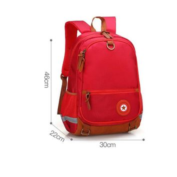Boys Backpack Bag Fashion Lightweight Nylon Student School Bags for Teen and Girls waterproof orthopedic children  Schoolbags mochila AT_61_4