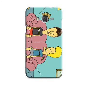 Beavis And Butthead red Samsung Galaxy J7 2015 | J7 2016 | J7 2017 Case