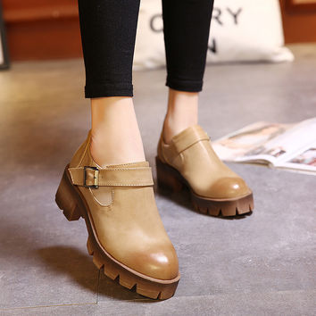 Summer Casual High Heel Vintage Shoes [4919958660]