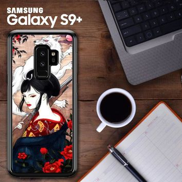 Lady Eboshi Studio Ghibli Art Y1037 Samsung Galaxy S9 Plus Case