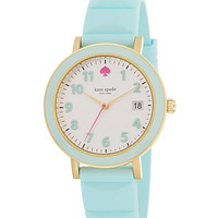 Kate Spade Silicone Metro Watch Blue ONE