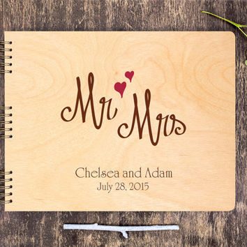 Wedding Guestbook, Custom Guestbook, Wooden Guestbook, Wedding Guest Book, Custom Guest Book, Wooden Guest Book, Rustic Guestbook