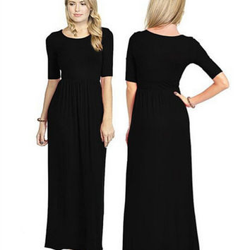 Womens Black Dress Gift 13