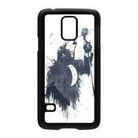 Wolf Song 3 Black Hard Plastic Case for Samsung Galaxy S5 by Balazs Solti