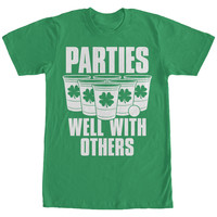 St. Patricks Day - Parties Well - T-Shirt