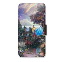 Cinderella for Samsung Galaxy S6 Case Brand New PU Leather Card Slots Wallet Stand Protector Case Cover