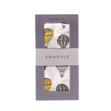 NEWCASTLE CLASSICS HOT AIR BALLOON SWADDLE
