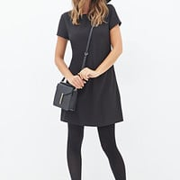FOREVER 21 Lace Back Shift Dress
