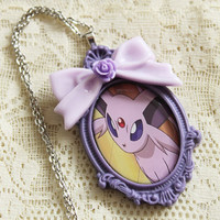 Pokémon - ESPEON - EEVEELUTION Necklace - Nintendo Nostalgia