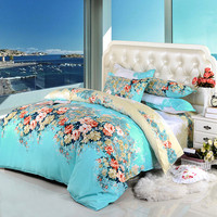 Printing Bedding Set Fashion Bed Sheet / Duvet Cover / Pillowcase Winter spring autumn Cotton Bed Set Comforter Bedding Sets