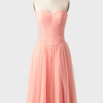 Peach Perfection Tulle Dress