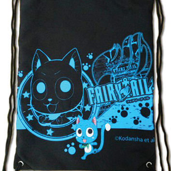 Fairy Tail - Happy Drawstring Bag