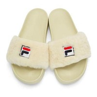 Off-White Fila Edition Drifter Slides