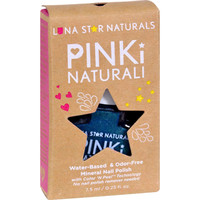 Lunastar Pinki Naturali Nail Polish - Salem (metallic Blue) - .25 Fl Oz