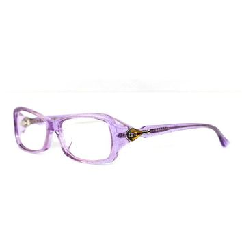 Myopia Glasses Frame Brown Decorative Pattern Glasses Female Glasses Box Purple Eye Frame Wine Red Eye Glasses Frames For Women