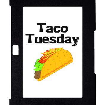 Taco Tuesday Design Galaxy Note 10.1 Case  by TooLoud