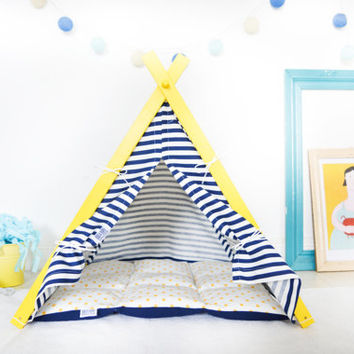Dog teepee for sailor pug (Medium size)