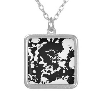 Ink Silver Plated Necklace