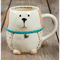 Natural Life Folk Mug - Dog