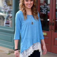 Parkway Top {Denim Blue}