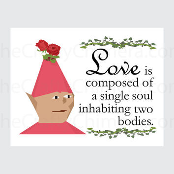 Runescape Gnome Child Printable Valentine Card