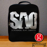 Sword Art Online SAO Logo Backpack for Student