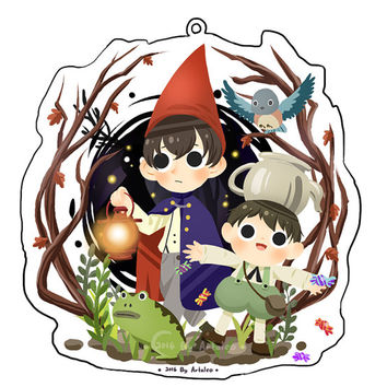 EARLY BIRD:  Over the Garden Wall Keychain